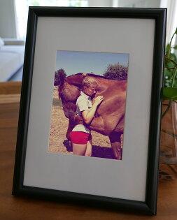 聚鯨Cetacea﹡Art【KLFZ-0464】friendship友誼animal動物warm溫馨畫框相框