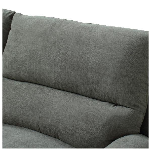 ◎布質3人用電動可躺式沙發 N-BEAZEL DBR NITORI宜得利家居 5