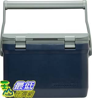 [106美國直購] Stanley 10-01622-002 (7 Qt) 牛仔藍 Adventure Cooler 可提式保溫冰桶 保冷箱