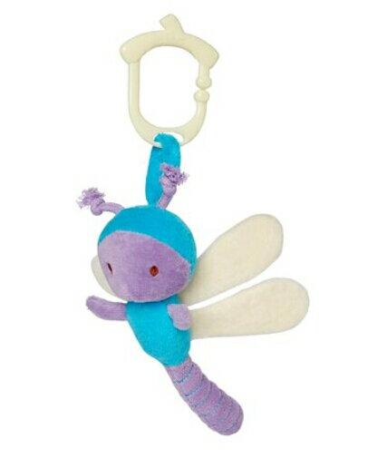 美國MyNatural 吊掛隨行玩偶-Dragonfly蜻蜓