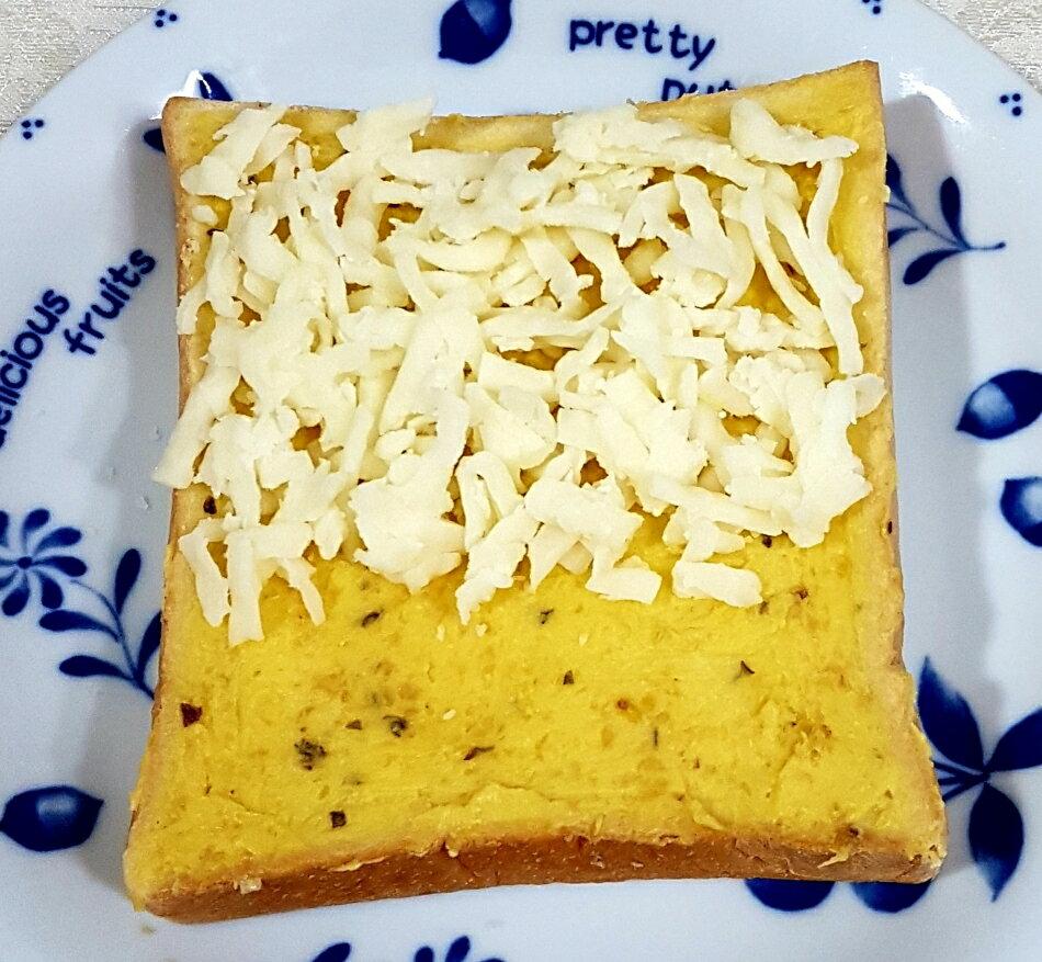 早餐首選  香蒜乳酪厚片吐司 5片入  輕鬆吃