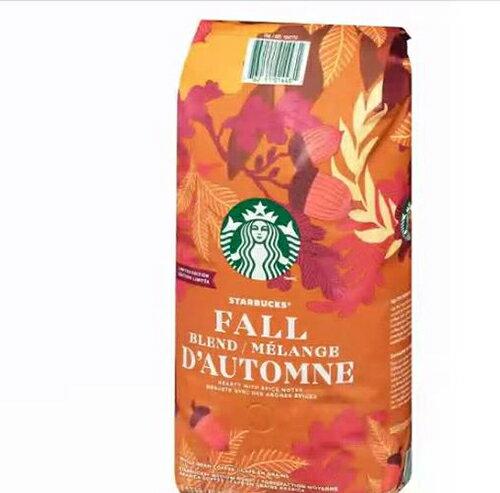 [COSCO代購] C104770 STARBUCKS 秋季限定咖啡豆 每包1.13公斤