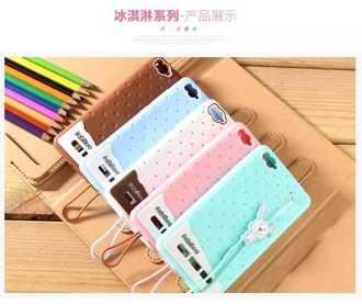 Mi小米4i 保護套 Fabitoo法比兔冰淇淋矽膠套 小米4i 手機保護殼