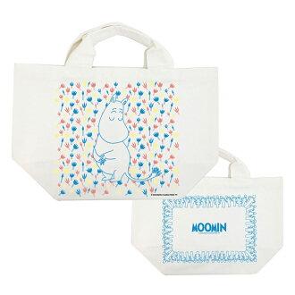 Moomin嚕嚕米正版授權 - 托特包:【 Moomin精靈 】