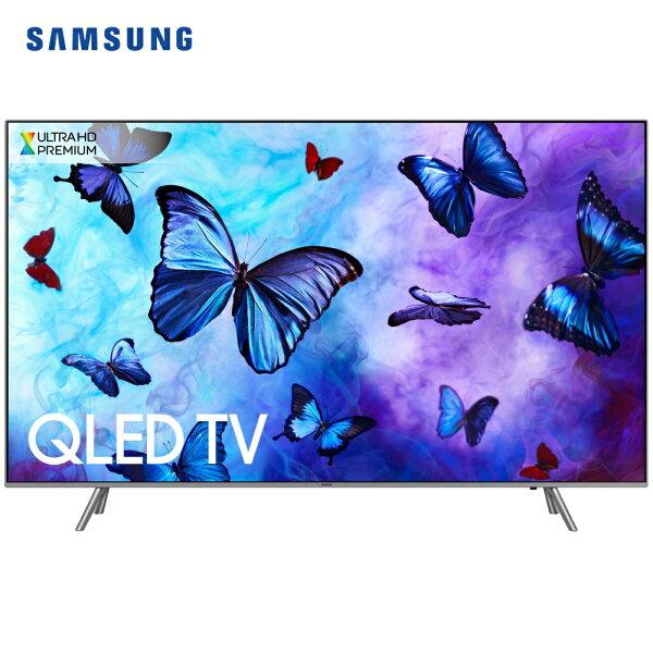 Samsung三星QA55Q6FNAWXZW電視55吋4KQLED平面液晶Q系列