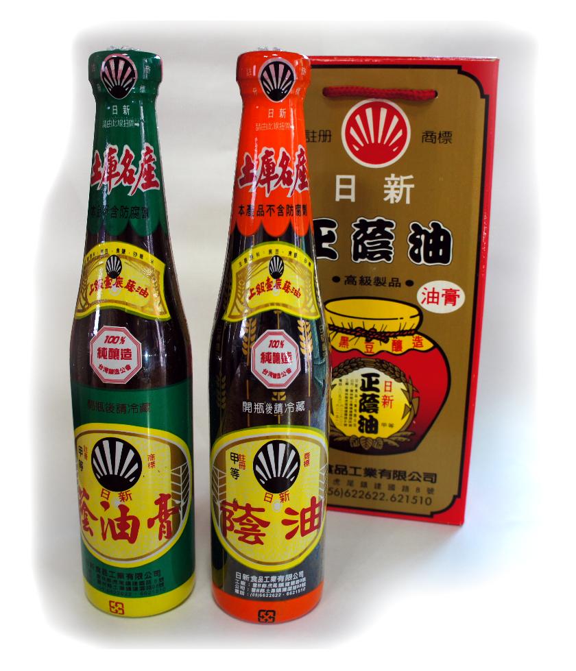 |日新|純黑豆釀 上級壺底蔭油膏清[2入]禮盒組