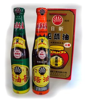  日新 純黑豆釀 上級胡底蔭油膏清[2入]禮盒組
