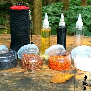 美麗大街【TWG001】TNR升級大容量 高品質戶外調味瓶 油瓶 醬油瓶 調味罐 收納組 露營 廚房調味 七件組