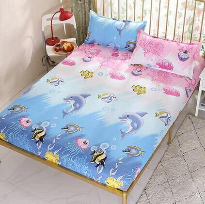 床罩 九鹿堡床笠席夢思保護套床罩床裙薄椰棕墊床墊套單件防滑床套床單