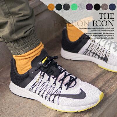 柒零年代【N8850J】古著穿搭彈性羅紋素色長筒襪Impress