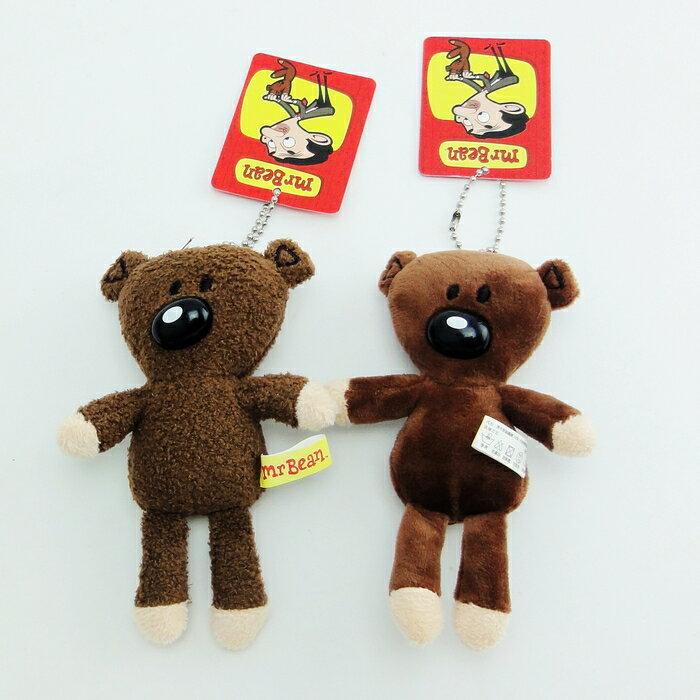 【UNIPRO】卡通 Mr. Bean 豆豆熊 豆豆先生 泰迪熊 14cm 絨毛玩偶 娃娃 吊飾