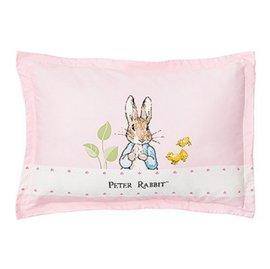 【淘氣寶寶】奇哥JoiePeterRabbit花園比得兔充綿兒童枕-粉紅