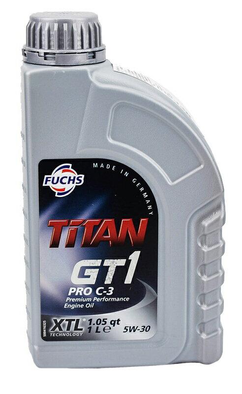 FUCHS  TiTAN GT1 PRO C3 5W30 合成機油 #7677
