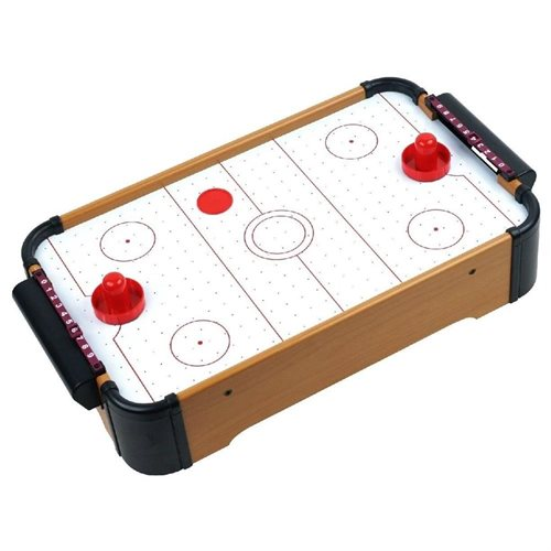 Gizmo Toy Cool Games Air Hockey Wooden Tabletop Classic Battery - Classic air hockey table