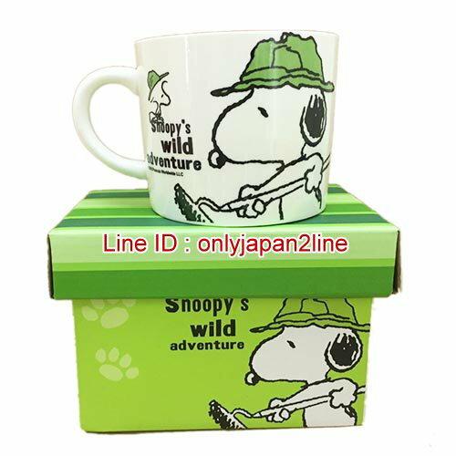 【真愛日本】17011200020馬克杯-SN園丁綠   史努比 SNOOPY  馬克杯  水杯