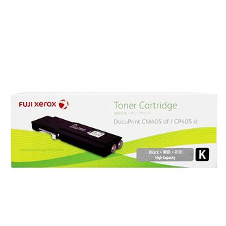 富士全錄 Fuji Xerox CT202033 原廠原裝高容量黑色(K) 碳粉匣(適用 DP CM405 df, DP CP405 d)