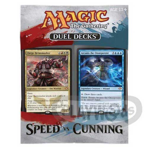 【Playwoods】[MTG魔法風雲會]SVC英文版:速度vs狡詐 對戰套牌禮盒Duel Decks: Speed vs Cunning(韃契可汗)