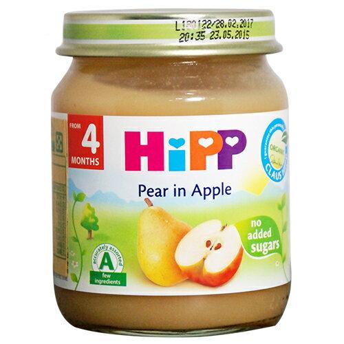 HiPP喜寶蘋果西洋梨泥