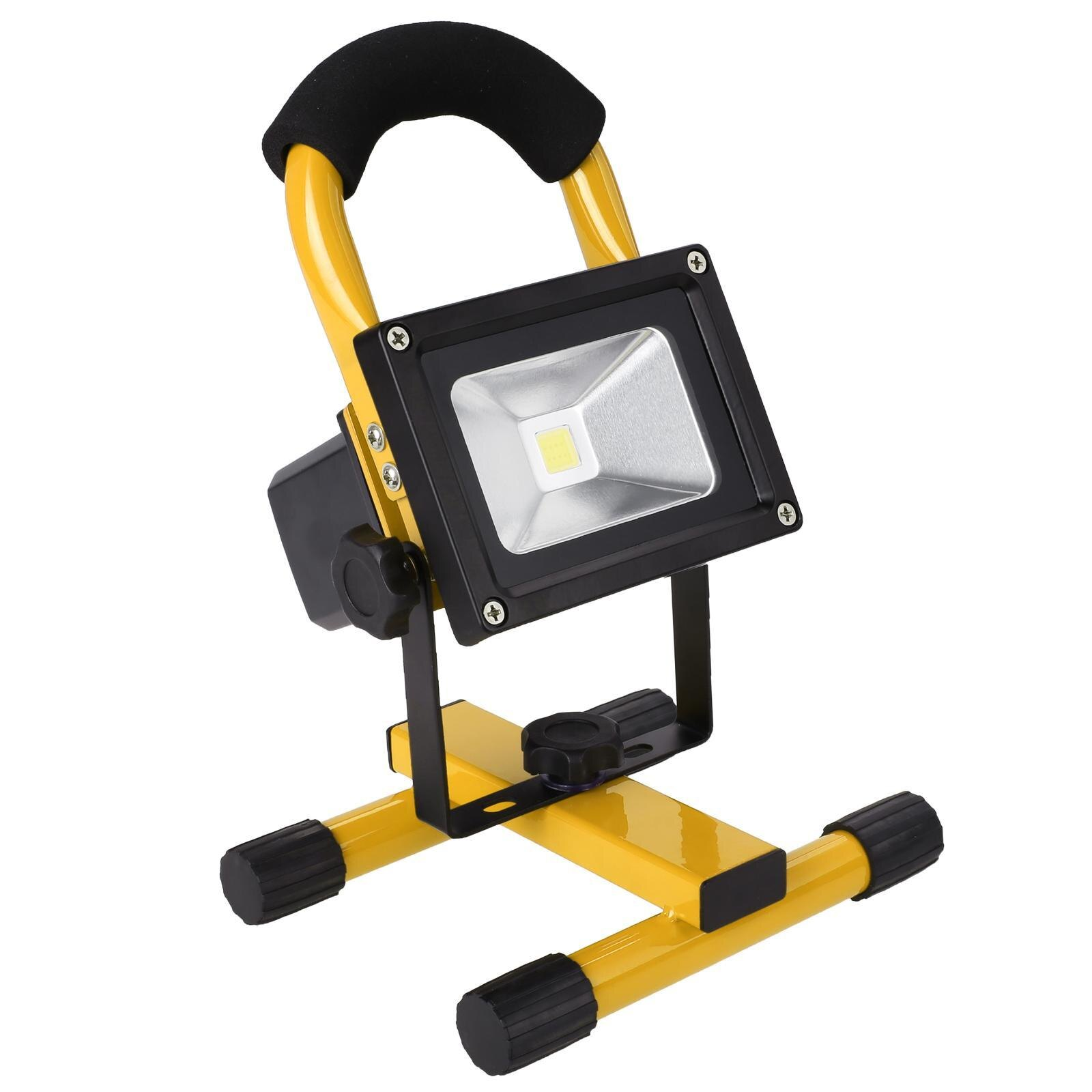 10W Wireless Rechargeable LED Flood Light Outdoor Camping Hiking Lamp 2
