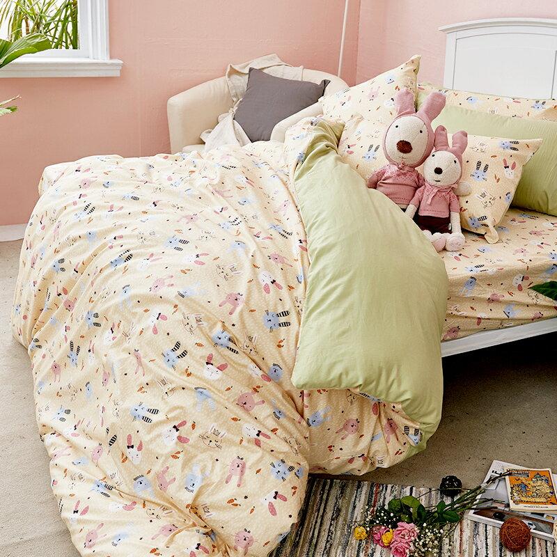 床包  /  雙人-100%精梳棉【妮妮公主】含兩件枕套 戀家小舖 好窩生活節  台灣製 7