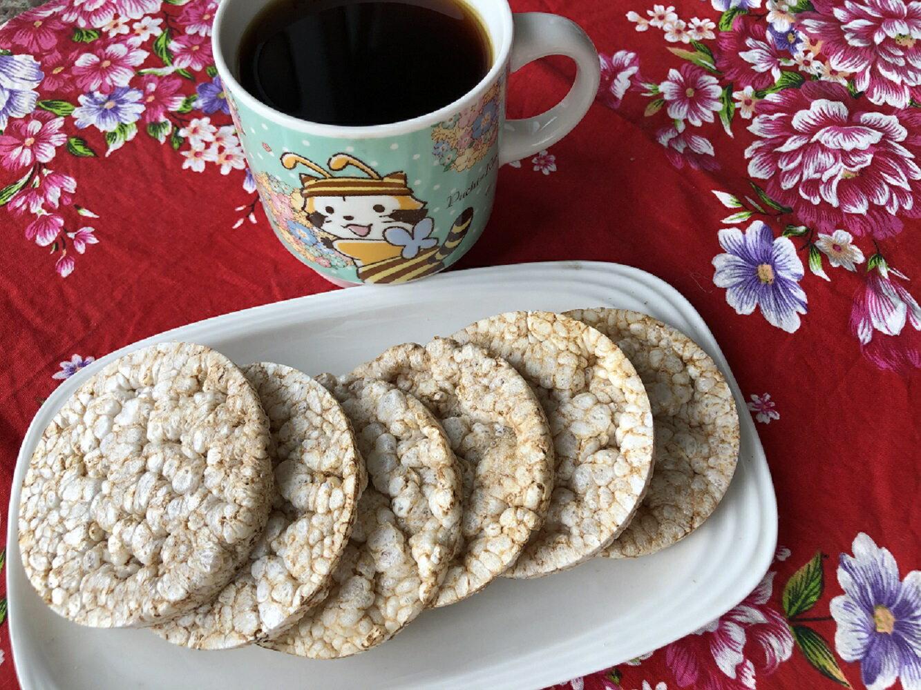 陳家庄超人氣 無糖糙米餅 (罐裝約23片/罐 ) 下午茶良伴 農特產伴手禮