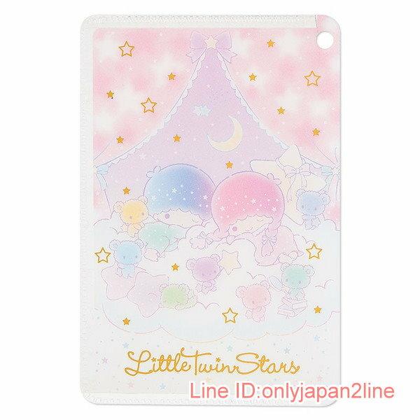 【真愛日本】17030900014 日製卡片套-TS星空粉AAF 三麗鷗家族 Kikilala 雙子星 卡片套