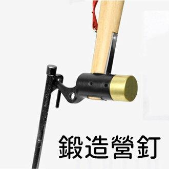 強化高碳鋼鍛造營釘-20公分【SV8265】快樂生活網