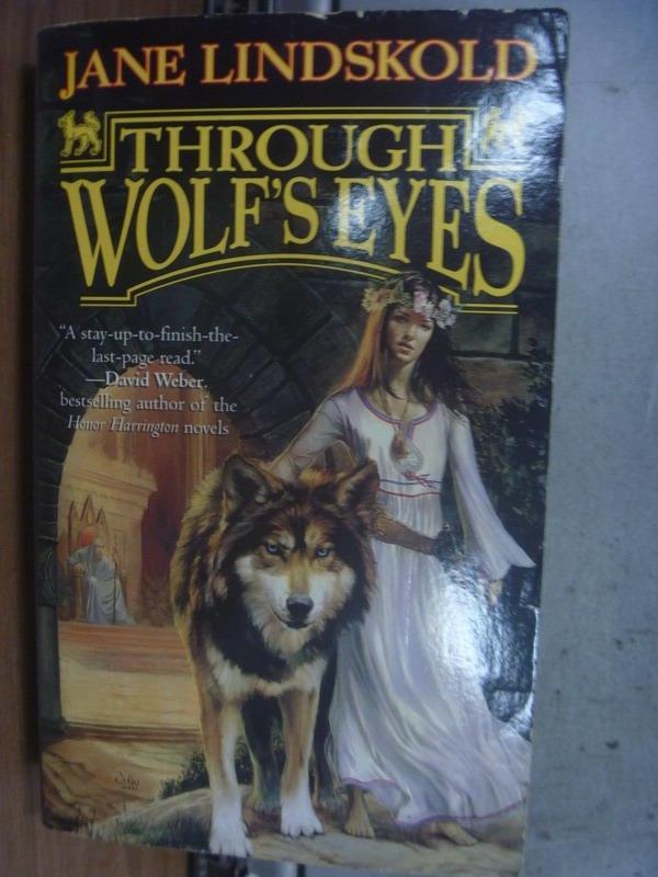 【書寶二手書T4/原文小說_OSV】Through Wolf's Eyes_Jane