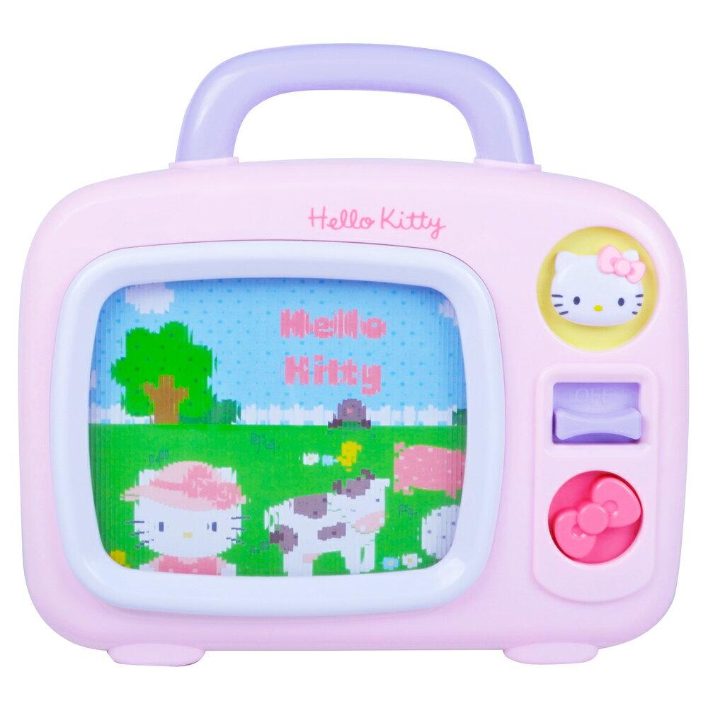【麗嬰房獨家】Hello Kitty 造型音樂電視機