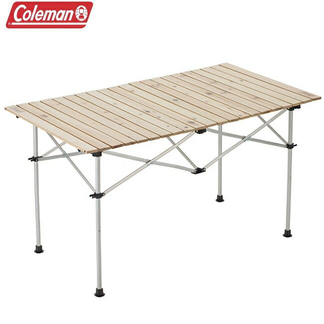 Coleman 天然實木蛋捲桌/120 /摺疊桌/露營摺疊桌CM-31291M000/台北山水