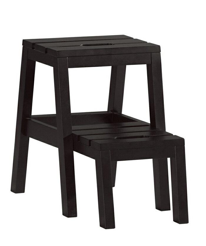 【尚品傢俱】CM-1037-15 查理多功能樓梯椅(黑色)