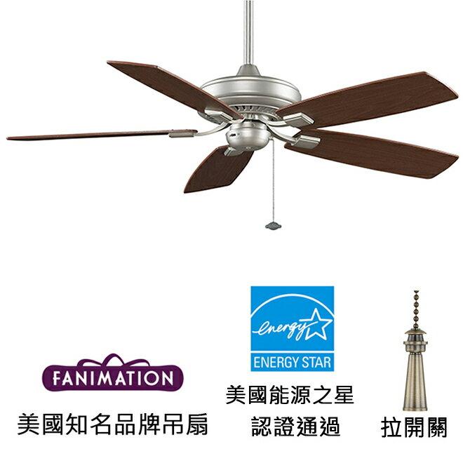 <br/><br/>  [top fan] Fanimation Edgewood Decorative 52英吋能源之星認證吊扇(TF610SN)砂鎳色<br/><br/>