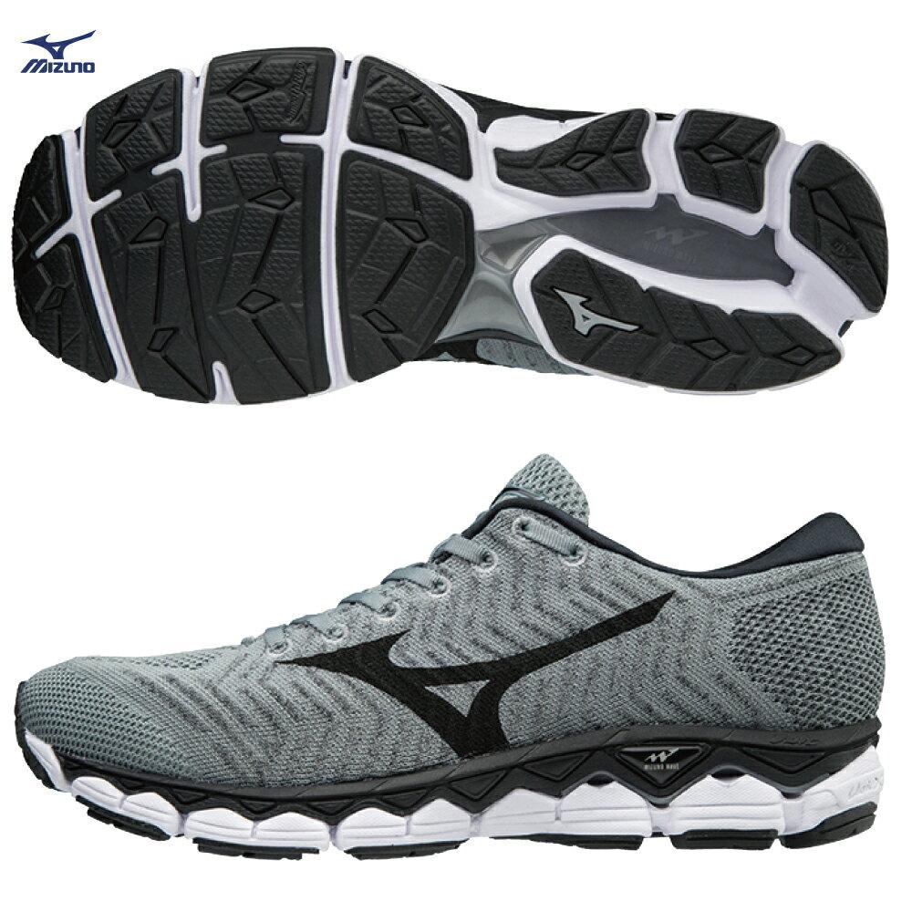 J1GC182512(灰x黑)WAVEKNIT技術編織 WAVEKNIT S1 男慢跑鞋 S【美津濃MIZUNO】 - 限時優惠好康折扣