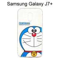 小叮噹週邊商品推薦哆啦A夢空壓氣墊軟殼 [大臉] Samsung Galaxy J7+ / J7 Plus (5.5吋) 小叮噹【正版授權】