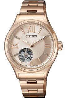 CITIZEN優雅女神自信氣息機械腕錶PC1003-58X