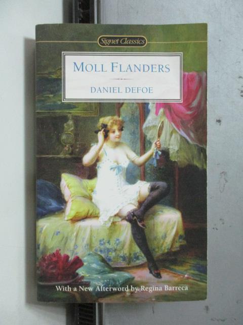 【書寶二手書T2/原文小說_ORY】Moll Flanders_Daniel Defoe