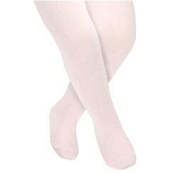 【hella 媽咪寶貝】英國 JoJo Maman BeBe 柔細寶寶兒童內搭褲襪/保暖襪_淡粉(JJT005)