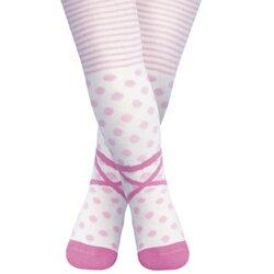 【hella 媽咪寶貝】英國 JoJo Maman BeBe 花漾嬰幼兒小童內搭褲襪/保暖襪_芭蕾舞者 (JJL014)