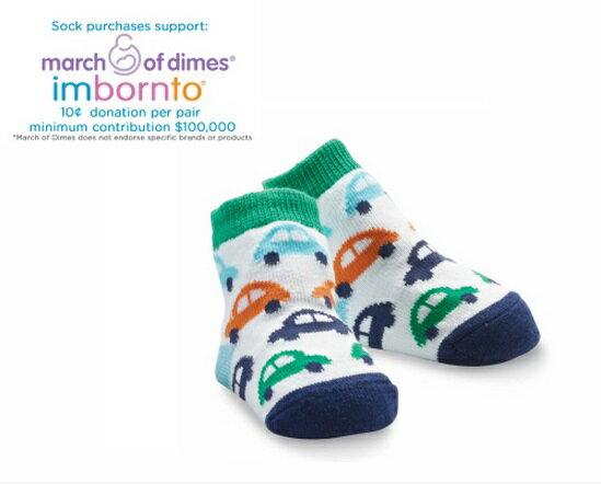 【hella 媽咪寶貝】美國 Mud Pie 時尚造型棉襪/止滑襪/假鞋襪/嬰兒襪 汽車圖案造型(MPSG1-17)