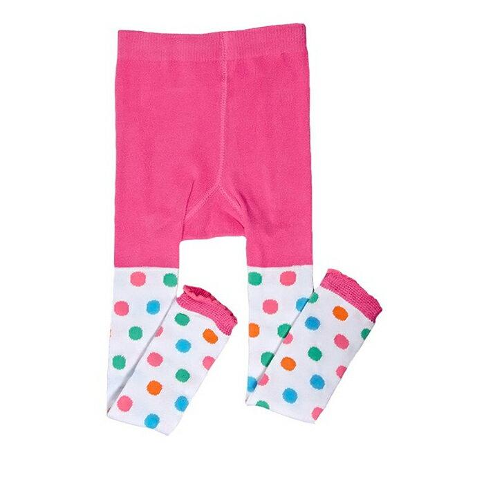 【HELLA 媽咪寶貝】美國 juDanzy(my little legs) 內搭褲襪 彩色點點(951)