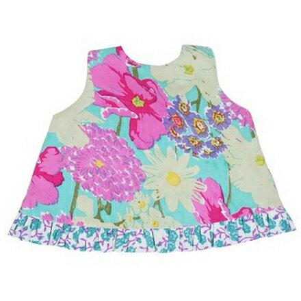 【hella 媽咪寶貝】美國 RuffleButts 小女童甜美荷葉邊搖擺衣/洋裝 諾拉貝拉 (BRSW09)