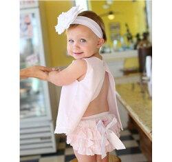【hella 媽咪寶貝】美國 RuffleButts 小女童甜美荷葉邊搖擺衣/洋裝 _夏日甜蜜粉  (BRSW07)
