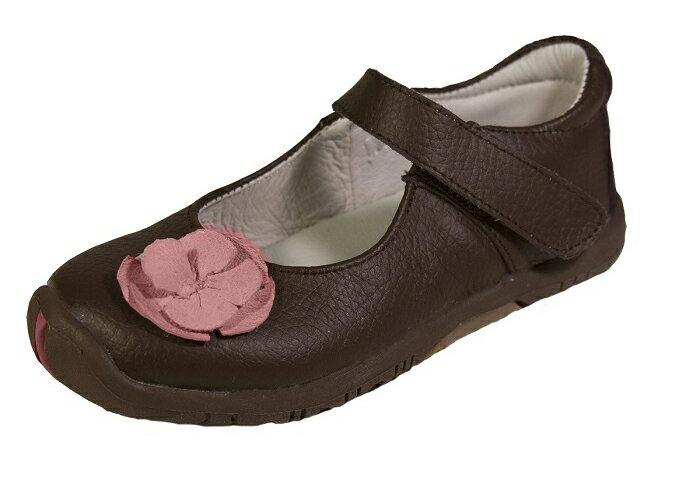 【hella 媽咪寶貝】美國 Rileyroos 手工真皮無毒學步鞋/童鞋/寶寶鞋/嬰兒鞋 費歐納優雅咖啡童鞋