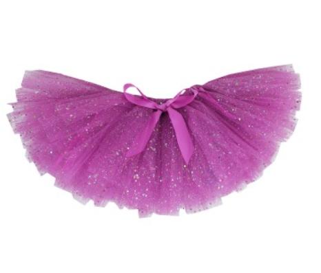 【hella 媽咪寶貝】美國 RuffleButts 可愛活潑亮片小澎裙 神秘深紫(RBTT03)