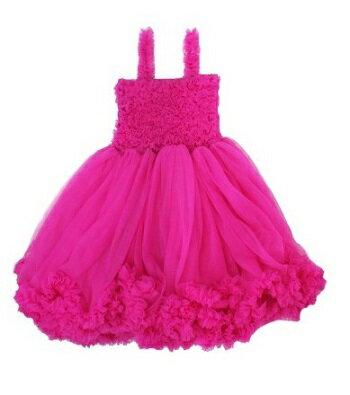 【hella 媽咪寶貝】美國 RuffleButts 優雅甜美蕾絲洋裝 覆盆子(RBPDR04)