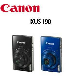 ★分期0利率★CANON IXUS 190 數位相機 WIFI NFC 24mm 超廣角 10X光學變焦 彩虹公司貨 (少量現貨,下標前請先來信詢問庫存,謝謝)