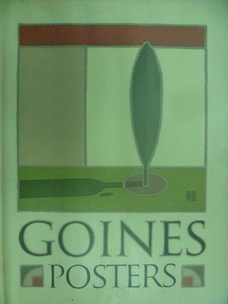 ~書寶 書T9/ _XFI~David Lance Goines Posters