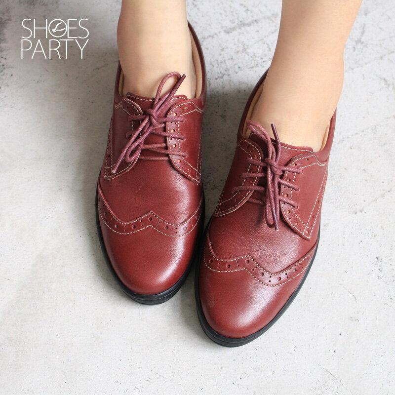 【F2-17711L】內外全真皮牛津休閒鞋_Shoes Party 3