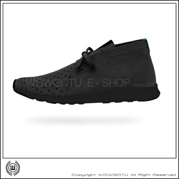 NATIVESHOES - APOLLO CHUKKA -JIFFY BLACK/JIFFY BLACK(1001)
