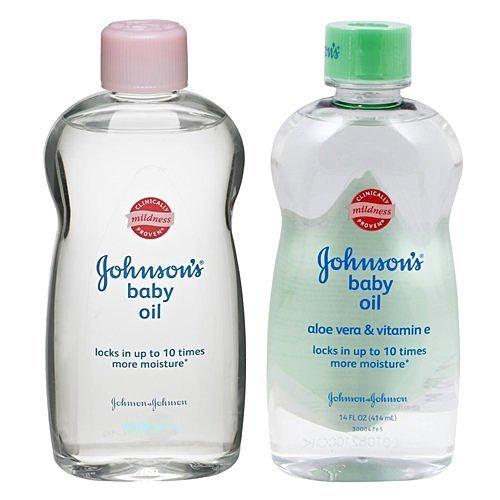 Johnsons 嬌生 潤膚油/嬰兒油 14oz/414ML (一般/蘆薈) ☆真愛香水★